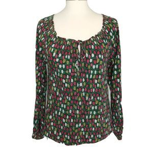 Boden Women 6 Polly Blouse Peasant Top